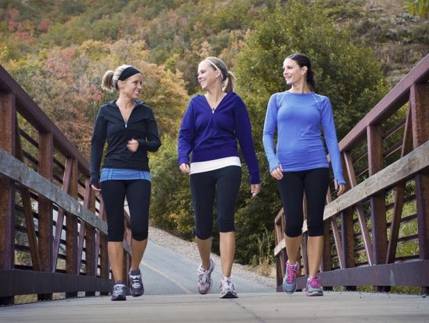 women walking- small