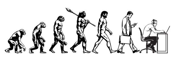 evolution of man- small