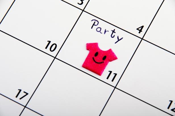 calendar- party